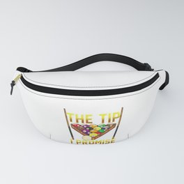 Funny Just The Tip I Promise Pool Billiards Pun Fanny Pack