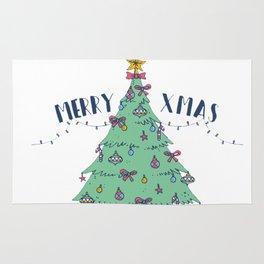 Make Your Christmas Tree Great Again Rug