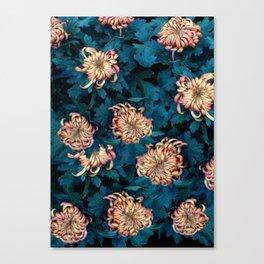 Сhrysanthemums Canvas Print