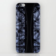 Eiffel Tower - Detail iPhone & iPod Skin