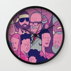The Royal Tenenbaums Wall Clock