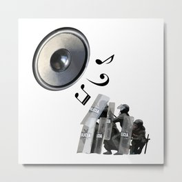 Protest Song Metal Print