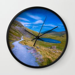 Descending on MIners' Track Wall Clock