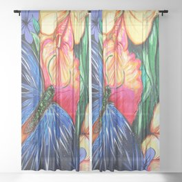 Butterfly Life Sheer Curtain