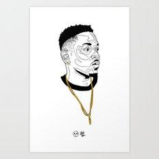 Kendrick Lamar Art Print