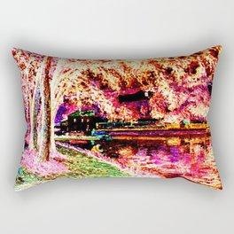 Summer Fishing Invert Rectangular Pillow