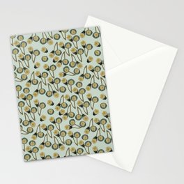 poppy seed pod Stationery Cards