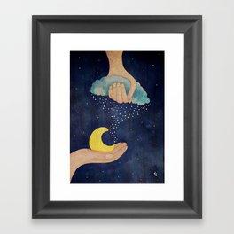 Handmade Night Framed Art Print