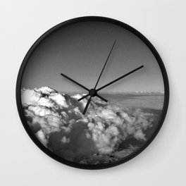 Into the cloud Wall Clock