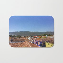 Rooftops in San Cristobal Bath Mat