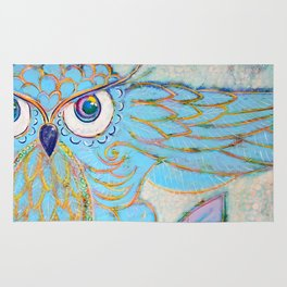 Owl - Colour Me Happy Rug
