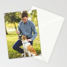 Dog by Zach Lucero Stationery Cards