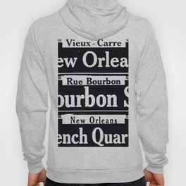 NEW ORLEANS FRENCH QUARTERS Hoody