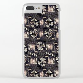 Small flowers Clear iPhone Case