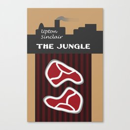 The Jungle by Upton Sinclair Canvas Print