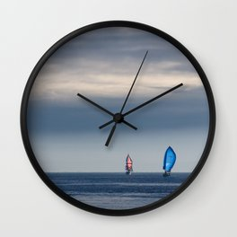 Yatching the Puget Sound Wall Clock