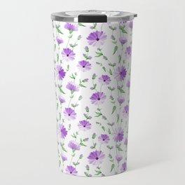Chicory seamless pattern Travel Mug