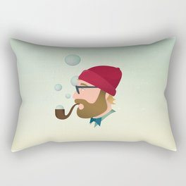Soap bubble Hipster Rectangular Pillow