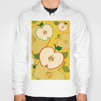 apple Hoodies featuring apple by vitamin
