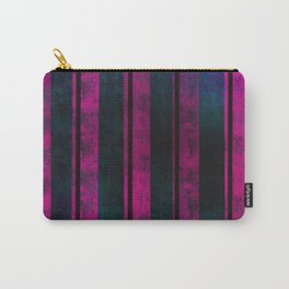 Neon Pink on Ethereal Fog Carry-All Pouch