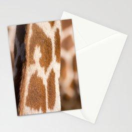Giraffe on Giraffe Stationery Cards
