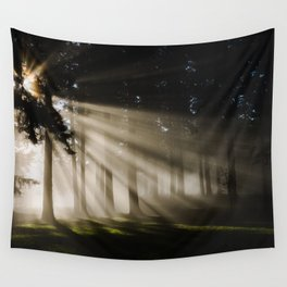 Boring Forest Wall Tapestry