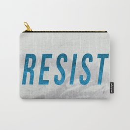 RESIST 2.0 - Blue #resistance Carry-All Pouch