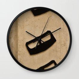 Three Wise Yadoo's  Wall Clock