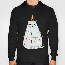 Grumpy Christmas Cat Hoody