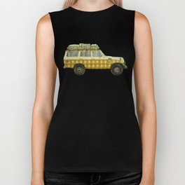 Plaid Land Cruiser Biker Tank