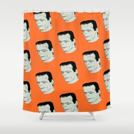 Frankenstein's Monster Shower Curtain