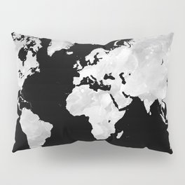 Design 70 world map Pillow Sham