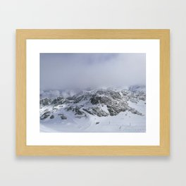 Mountains in June Framed Art Print