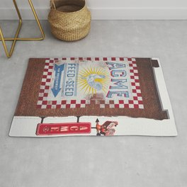 Acme Feed and Seed Nashville Tennessee Rug