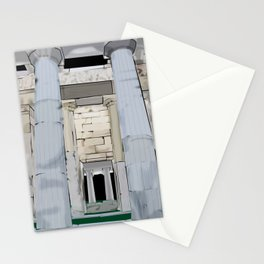 Roman Columns Stationery Cards