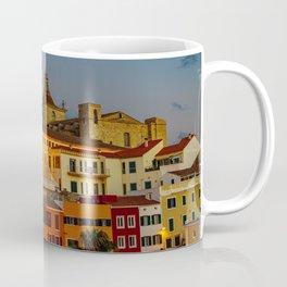 Cloister and church of Carmen at dusk - Mahon, Menorca Coffee Mug