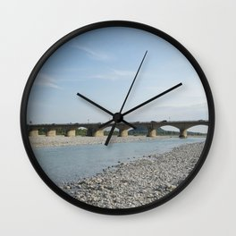 The bridge Wall Clock
