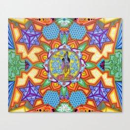 Krishna Mandala Canvas Print
