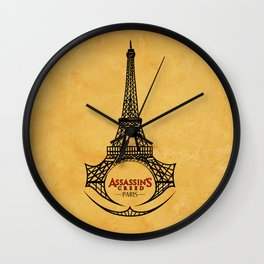 assassin's creed unity / paris Wall Clock