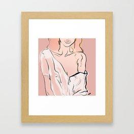 MUSE V Framed Art Print