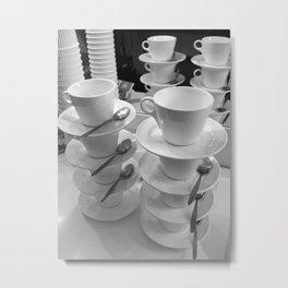 Cups In Oz Metal Print