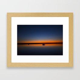 Trawler. Framed Art Print