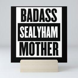 Badass Sealyham Mother Dog Lovers Mini Art Print