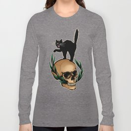 Scaredy Cat Long Sleeve T-shirt