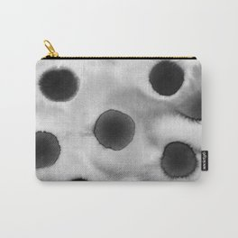 Black ink holes - in a watercolor based universe I Carry-All Pouch