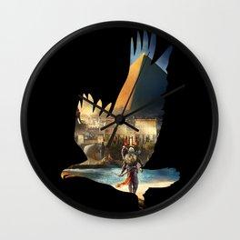 Eagle Wall Clock