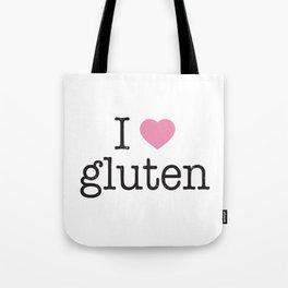 I Heart Gluten Tote Bag