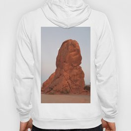 Valley of Fire, Moon Rise, Nevada Desert Hoody