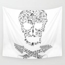 Skull Wall Tapestry