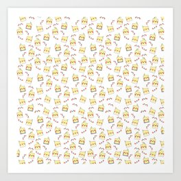 Lots of Cockatiels Art Print